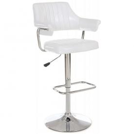Барный стул Vetro Mebel B-90 Белый