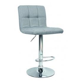 Барный стул Vetro Mebel B-40 Серый