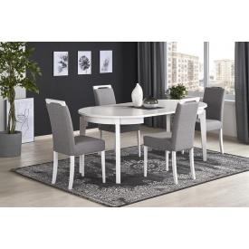 Обеденный стол Halmar Sorbus Белый Бук