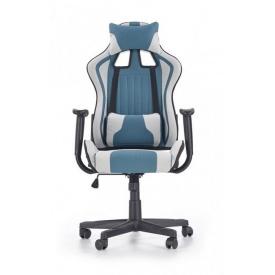 Кресло Halmar Cayman Светло-серый Синий
