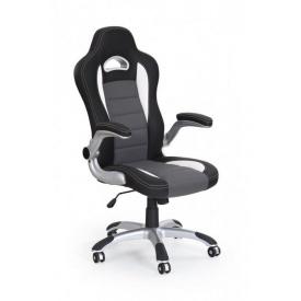 Кресло компьютерное Halmar Lotus Черно-серый