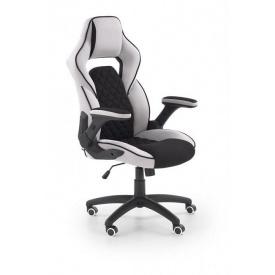 Кресло компьютерное Halmar Sonic Черно-серый