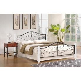 Кровать Halmar Violetta Черно-белый