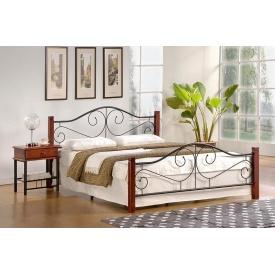 Кровать Halmar Violetta Черешня 140х200 см античная
