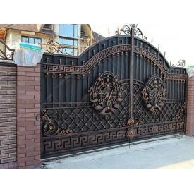 Кованые ворота под заказ Код: В-0101