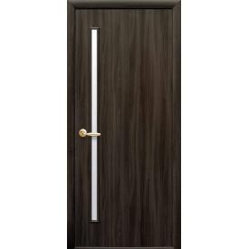 Міжкімнатні двері Глорія скло сатин