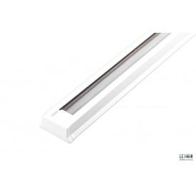 Шинопровод однофазный для трековых светильников Feron CAB1000 белый 1м