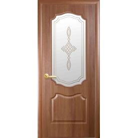 Межкомнатная дверь Фортис Вензель Р1 ПВХ DeLuxe