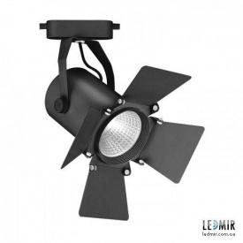 Трековий світлодіодний світильник Feron AL110 COB 20W-4000K чорний