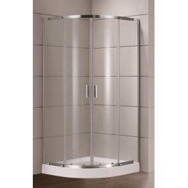 TOKAI душова кабіна 90х90х185 см профіль хром скло прозоре
