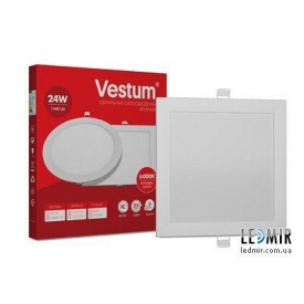 Світлодіодний світильник Vestum Квадрат 24W-6000K