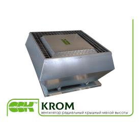 Вентилятор радиальный крышный малой высоты KROM-4 0,117