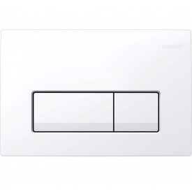 DELTA 51 смывная клавиша двойной смыв пластик белый