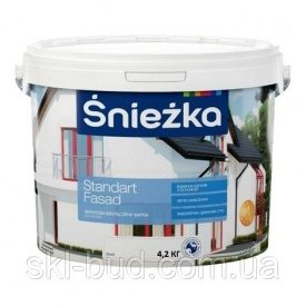 Sniezka Standart Fasad Фасадная краска 14 кг