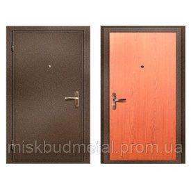 Технічні металеві двері Міськбудметал ДМЗ21-9 2100х900 мм