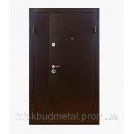 Техническая металлическая дверь Міськбудметал ДМЗ 21-15 2100х1500 мм