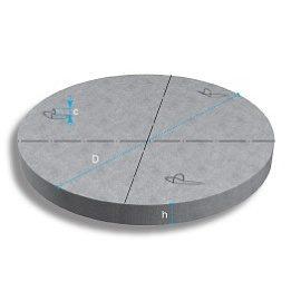 Днище бетонное ПН 10-15 1160х150 мм