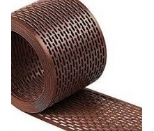 Лента свеса вентиляционная коричневый IVT 5000x100 мм