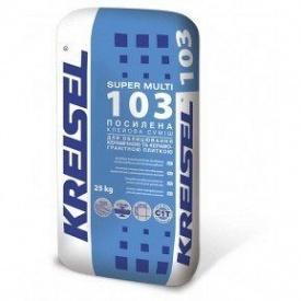 Клей для плитки морозостойкий усиленный Кreisel 103 Supermulti 25 кг