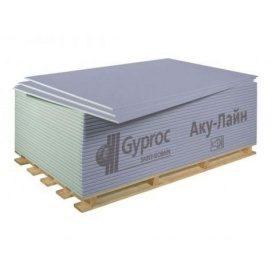 Звукоизоляционный гипсокартон Саундлайн-ГКЛА 2000х1200х12,5 мм