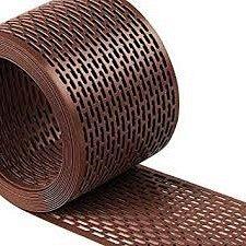 Стрічка звису вентиляційна коричневий IVT 5000x100 мм
