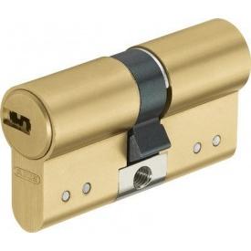 Цилиндр замка ABUS D15 ключ-ключ 90 мм 45х45 латунь 5 ключей