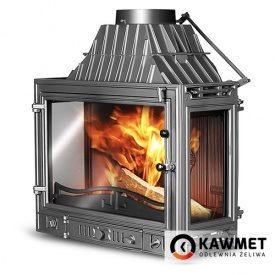 Камінна топка KAWMET W3 тристороння 16,7 кВт 700x540x420 мм