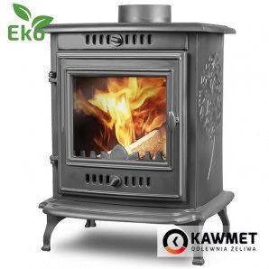 Чавунна піч KAWMET P10 6,8 кВт 490х625х480 мм