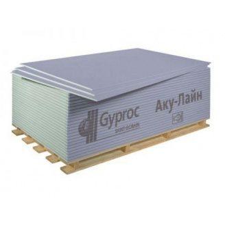 Звукоізоляційний гіпсокартон Саундлайн-ГКЛА 2000х1200х12,5 мм