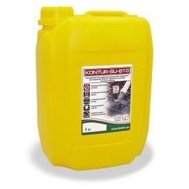 Комплексный пластификатор–замедлитель твердения для бетона и растворов KONTUR SU-610 5 л