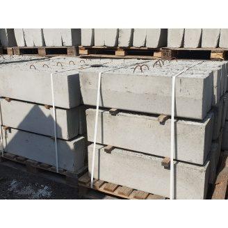 Бордюр дорожный БР 100.30.18 бетонный 1000х300х180 мм