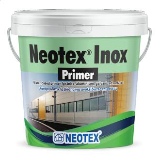 Грунт на водной основе для нержавейки, алюминия, оцинкованной стали Neotex Primer Ιnox