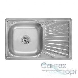 Мийка на кухню з нержавіючої сталі товщина 0,8 мм Imperial 7848 Satin