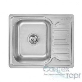 Мийка на кухню з нержавіючої сталі товщина 0,8 мм Imperial 5848 Satin