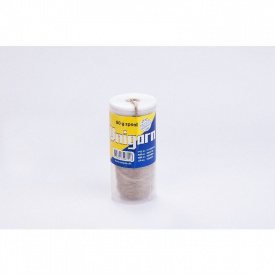 Unigarn льняные волокна (80 г катушка в контейнере)