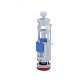 АНИ Арматура (WC7050C) двухуровневая, регулируемая без клапана, кнопка хром