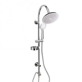 Душевая система Q-tap 1002 CRM на 2 режима с мыльницей
