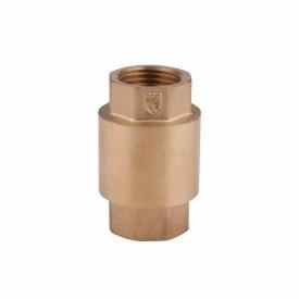 """Обратный клапан 1"""" (25) с латунным штоком SD FORTE SF240W25"""