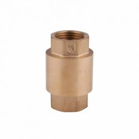 """Обратный клапан 1 1/4"""" (32) с латунным штоком SD FORTE SF240W32"""