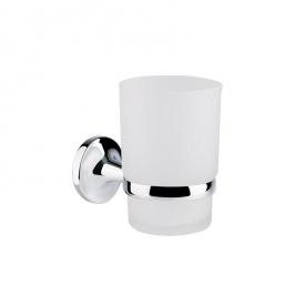 Держатель для зубных щеток настенный матовое стекло GF Italy (CRM)/S- 2806