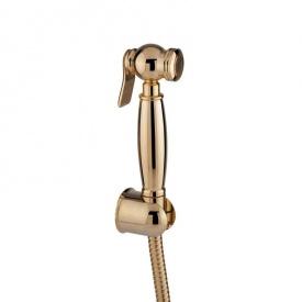 Гигиенический душ золото, с держателем и шлангом 120см в комплекте Bianchi KITDOC 264000# ORO