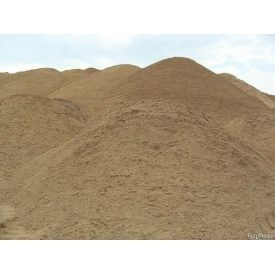 Пісок річковий насипом білий