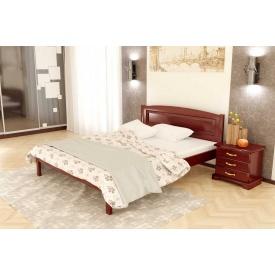 Дубове ліжко Комфорт 2 з дуба 90x200 без підйомного механізму BN-104