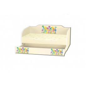 Kровать Kinder-Cool из ДСП 80x170 основой из ДСП KinderCool 2