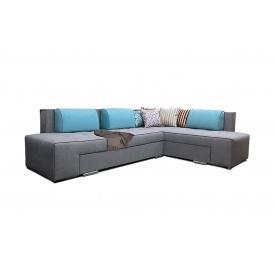 Кутовий диван Бридж з лівим розташуванням з тканини 1 категорії