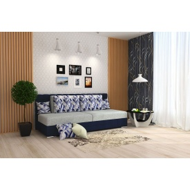 Прямой диван Прайм из ткани 1 категории с ППУ