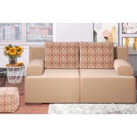 Прямой диван Стрит с ППУ из ткани 1 категории