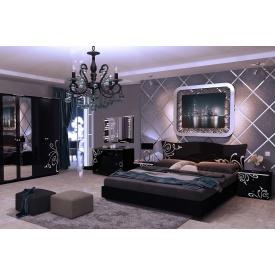 Спальня Богема Black 160x200 без каркасу