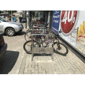 Велопарковка з нержавійки