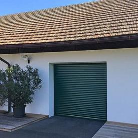 Автоматические рулонные ворота для гаража ALUTECH 2700x2200 мм